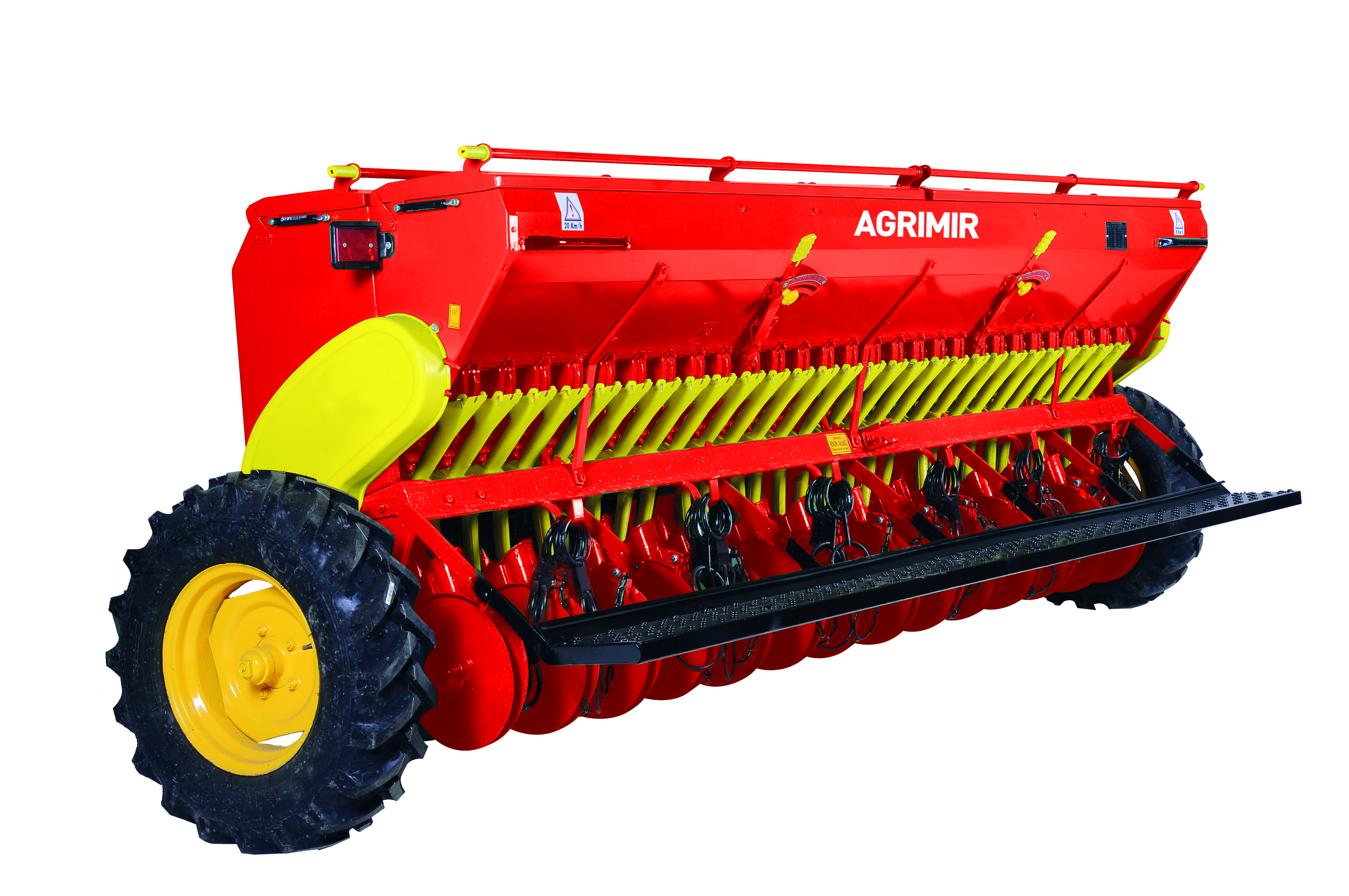 combined grain seed drill double disc 2