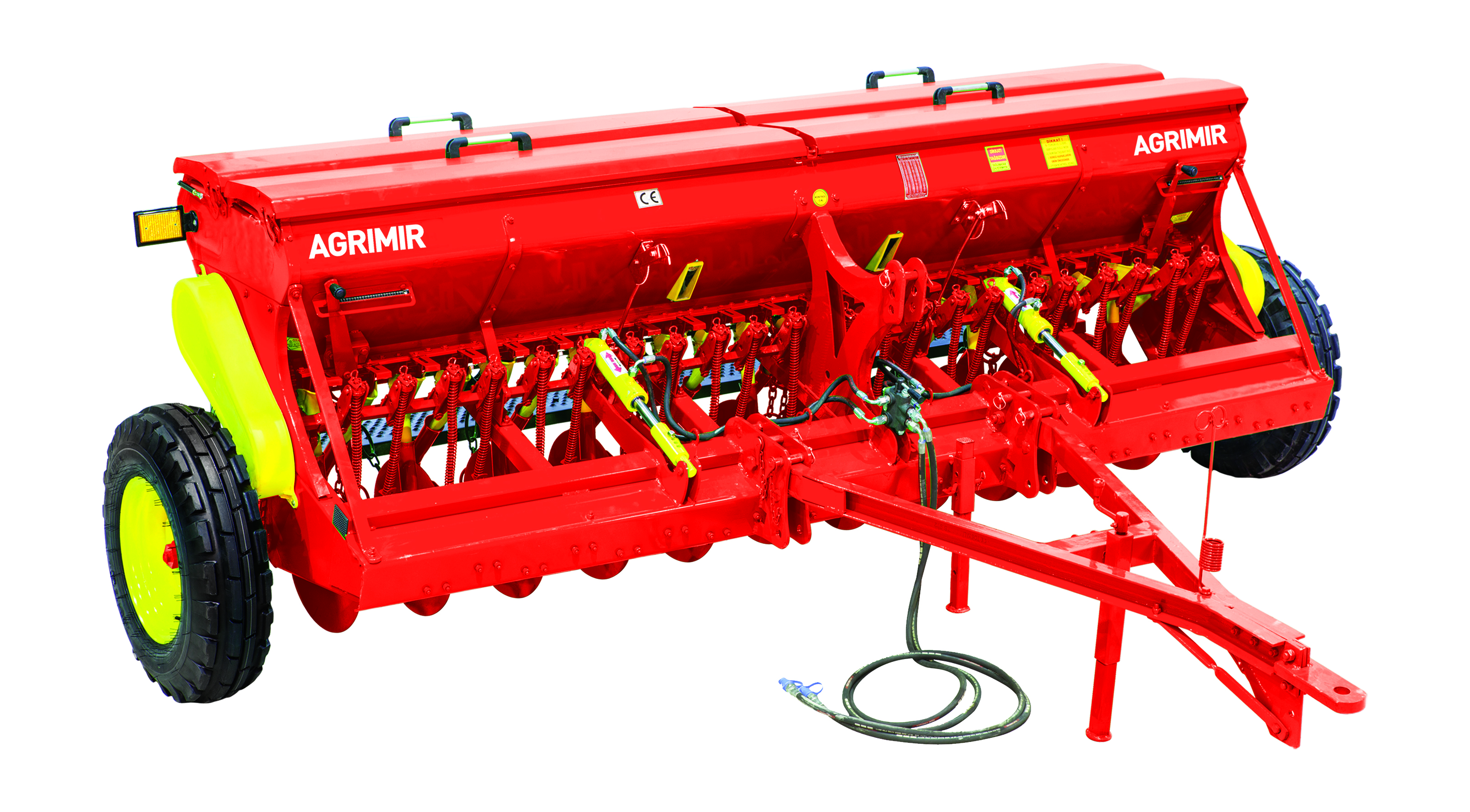 combined grain seed drill single disc