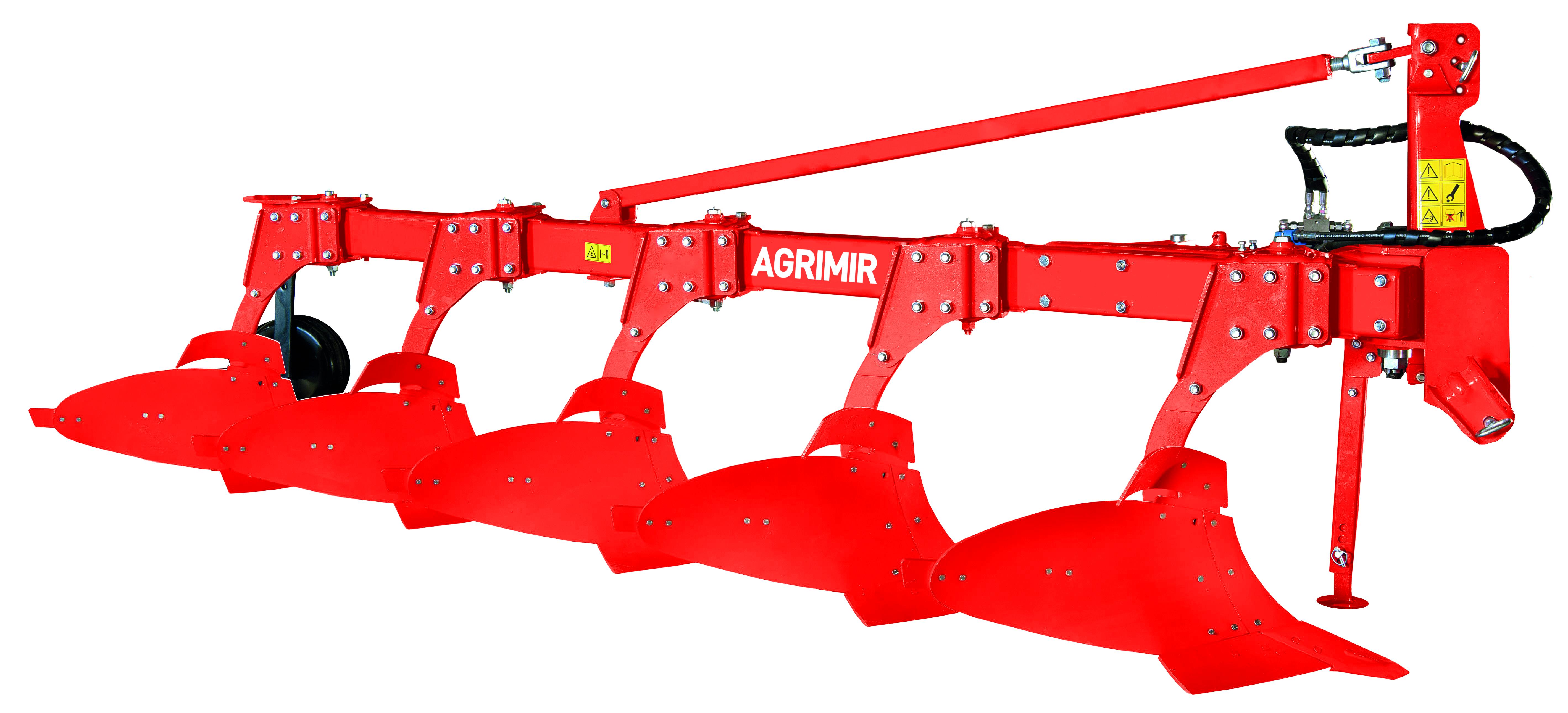 hydraulic adjustable profile plough