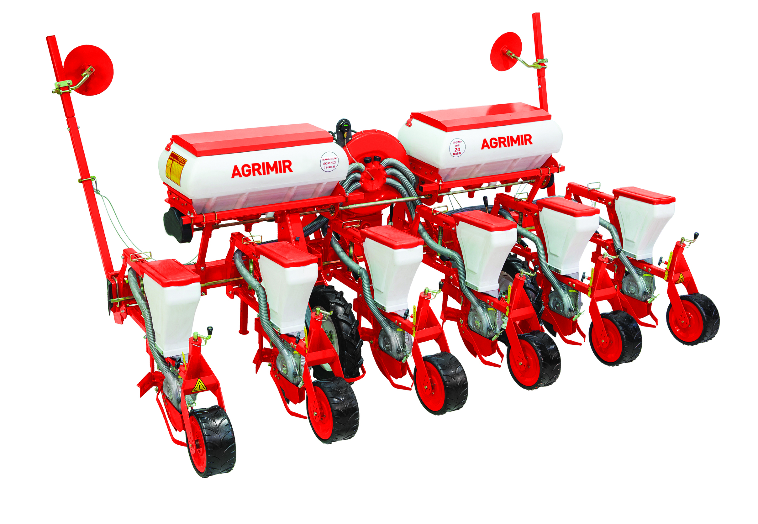 pneumatic precision seeder coulter type