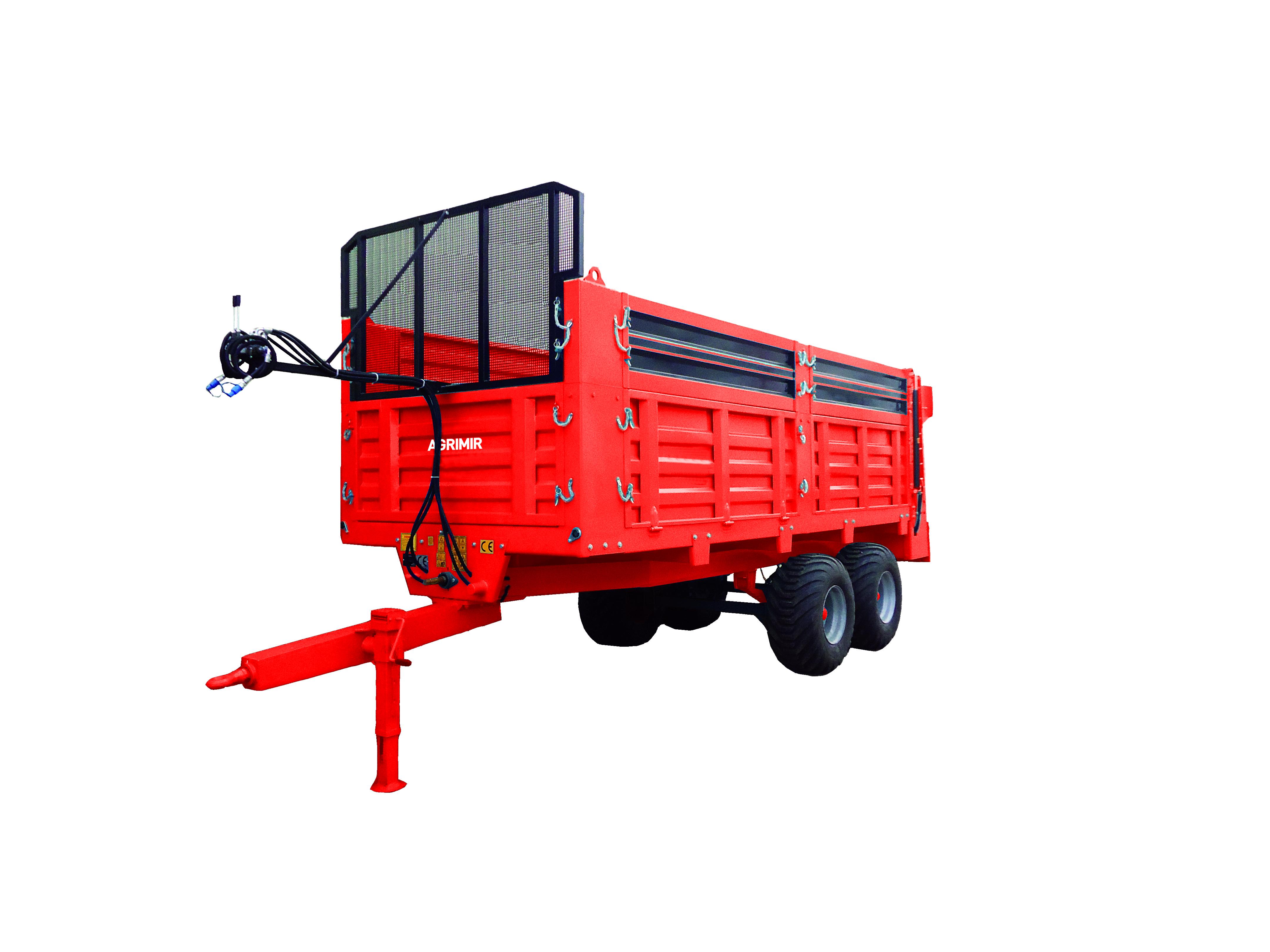 solid manure spreader 1